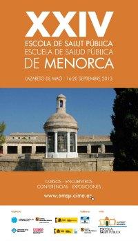 XXIV Escuela Salud Publica Menorca